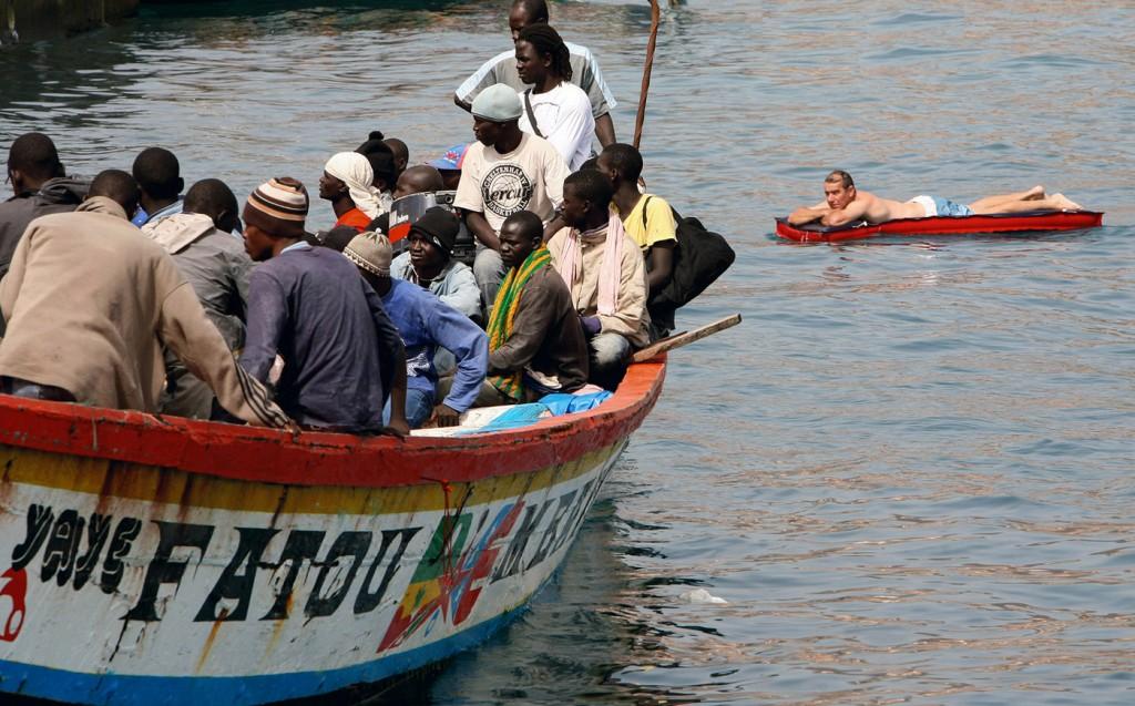 Juan Medina, Reuters [6 de septiembre de 2006, Islas Canarias]