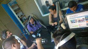 Estudio de la radio Mundosurfm.com