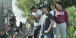 Filmación del spot para Mundo Villa